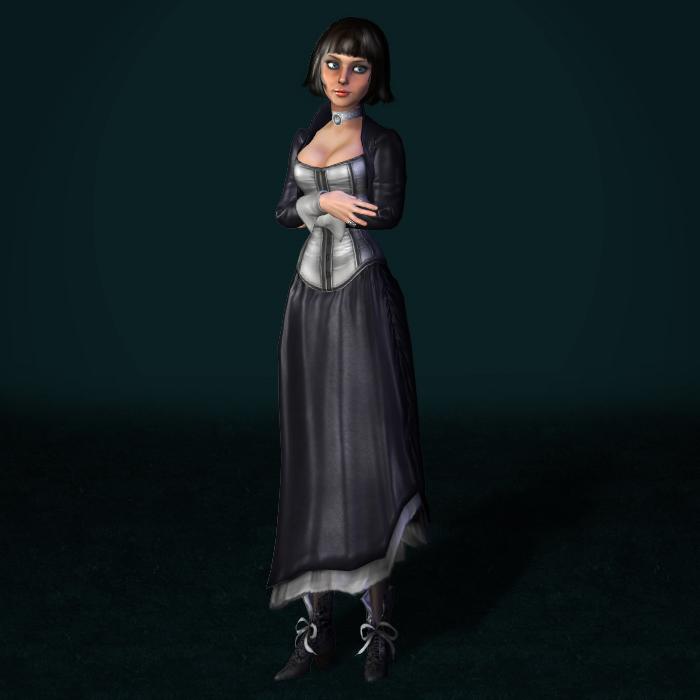 BioShock Infinite Elizabeth Demo by ArmachamCorp
