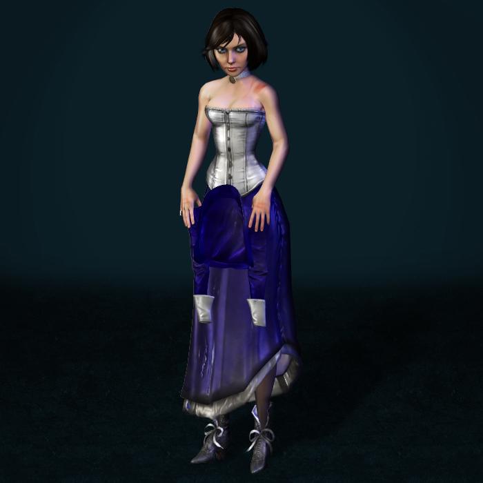 BioShock Infinite Elizabeth Tortured by ArmachamCorp