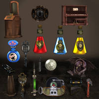 BioShock Infinite Props Pack 1B by ArmachamCorp