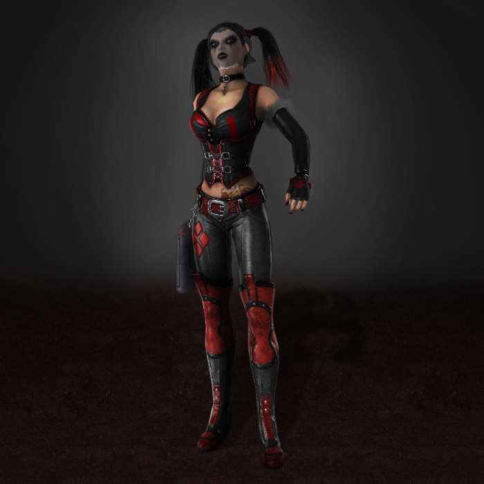 batman arkham city harley quinn dlc by armachamcorp on