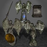 BioShock Infinite Columbia Statues by ArmachamCorp
