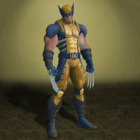 Deadpool Wolverine by ArmachamCorp