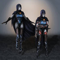Injustice Raven by ArmachamCorp