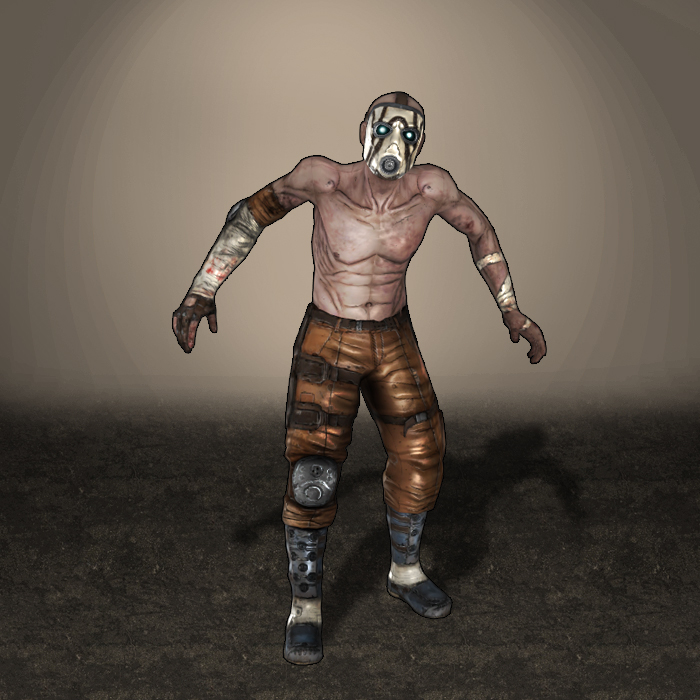 Borderlands Bandit Psycho by ArmachamCorp