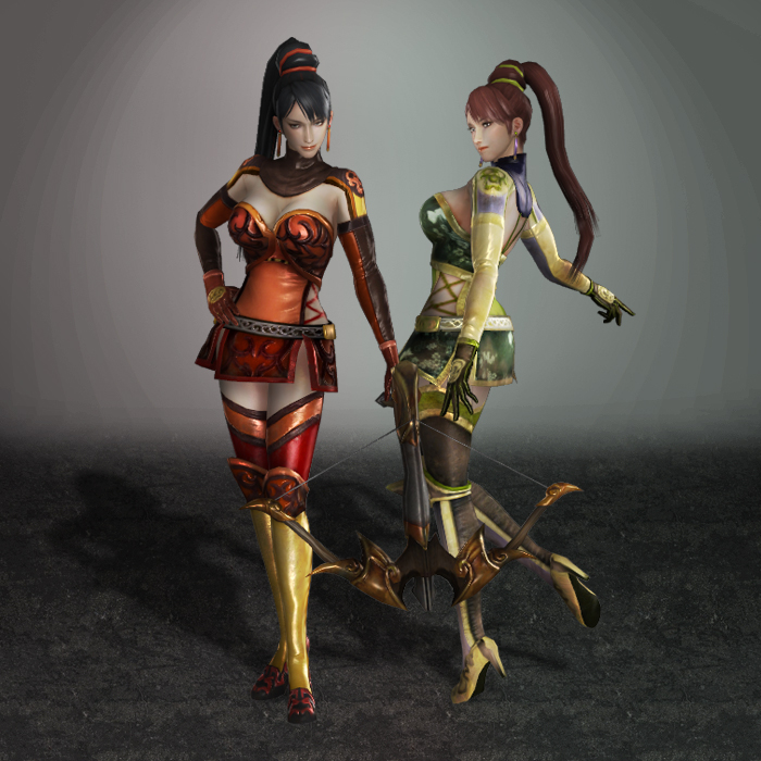 Dynasty Warriors 7 Lian Shi by ArmachamCorp