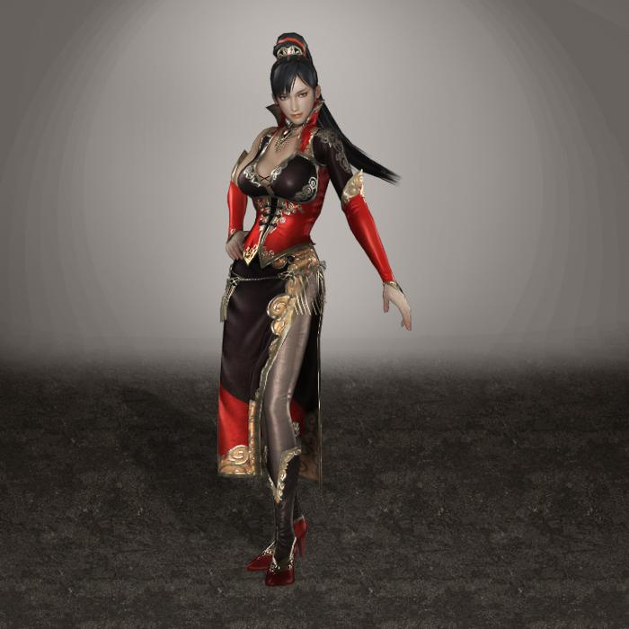 Warriors Orochi 3 Lian Shi: Dynasty Warriors 7 Lian Shi By ArmachamCorp On DeviantArt