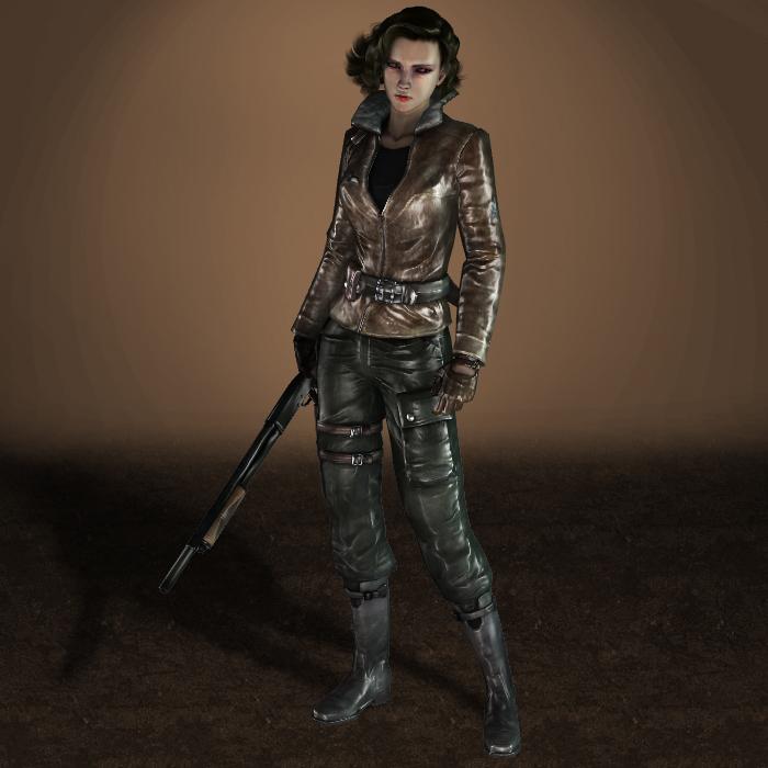Velvet Assassin Violette Pilot Outfit by ArmachamCorp