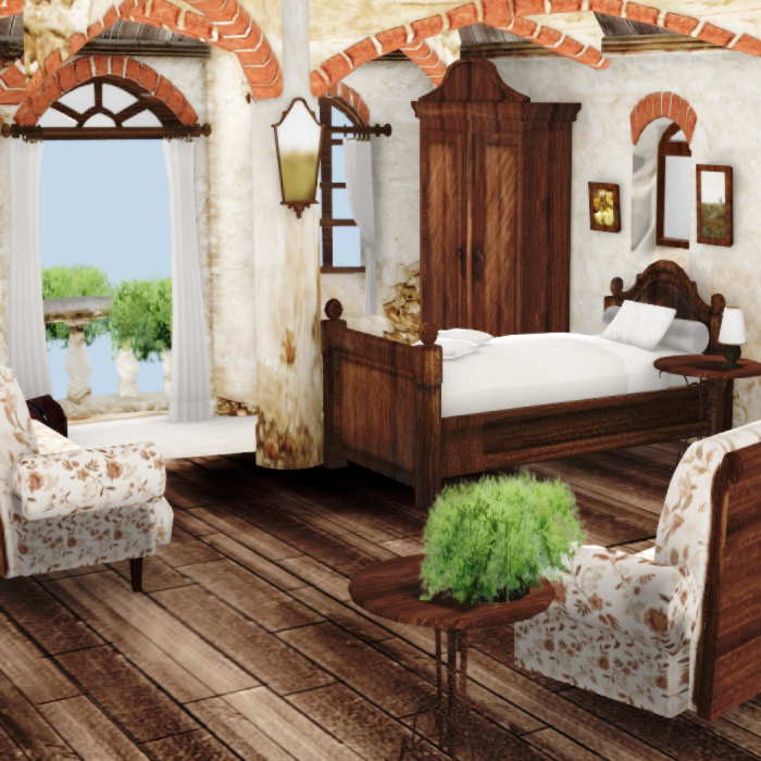 Pippa Funnell Toscana Bedroom by ArmachamCorp