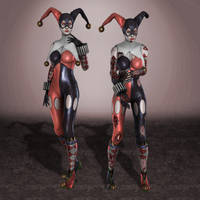 Injustice Harley Quinn AmeComi by ArmachamCorp