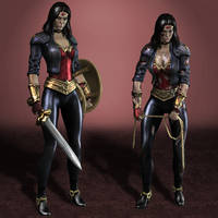 Injustice Gods Among Us Wonder Woman #600 by ArmachamCorp