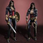 Injustice Gods Among Us Wonder Woman #600