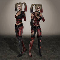 Injustice Harley Quinn Arkham by ArmachamCorp