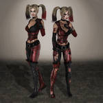 Injustice Harley Quinn Arkham