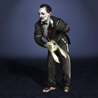 BioShock Sander Cohen by ArmachamCorp