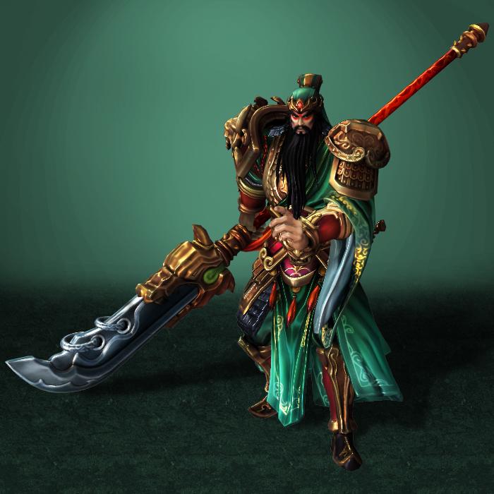 SMITE Guan Yu NEW by ArmachamCorp on DeviantArt