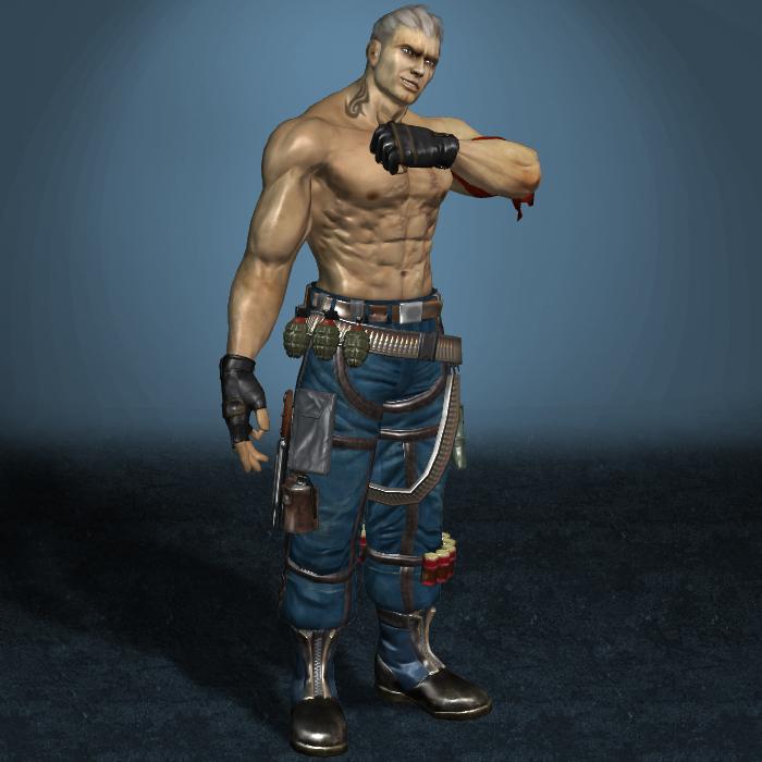 Tekken 6 Bryan Fury By Armachamcorp On Deviantart