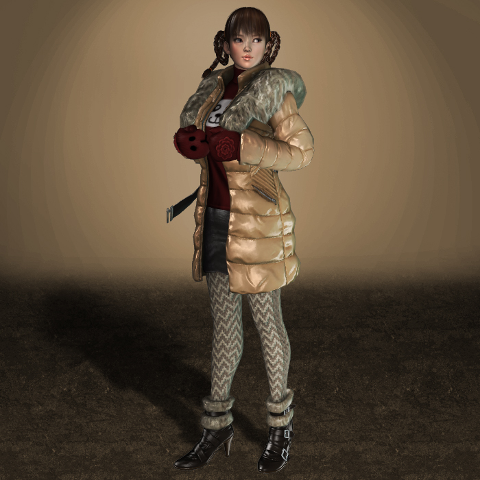 MESHMOD Lei Fang Winter Outfit by ArmachamCorp