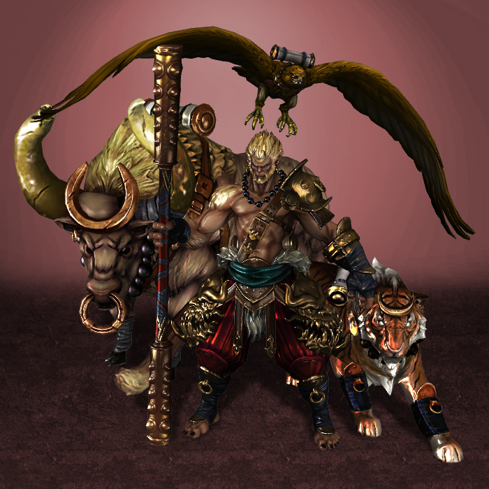 smite sun wukong new by armachamcorp on deviantart