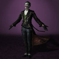 Batman Arkham Origins The Joker by ArmachamCorp