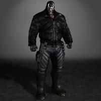 Batman Arkham Origins Bane 1 by ArmachamCorp