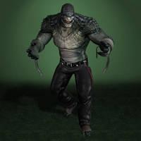 Batman Arkham Origins Killer Croc by ArmachamCorp