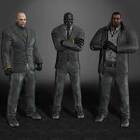 Batman Arkham Origins Black Mask Thugs by ArmachamCorp