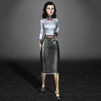 BioShock Infinite Burial at Sea Elizabeth by ArmachamCorp