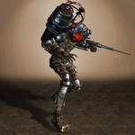 BioShock 2 Big Sister by ArmachamCorp