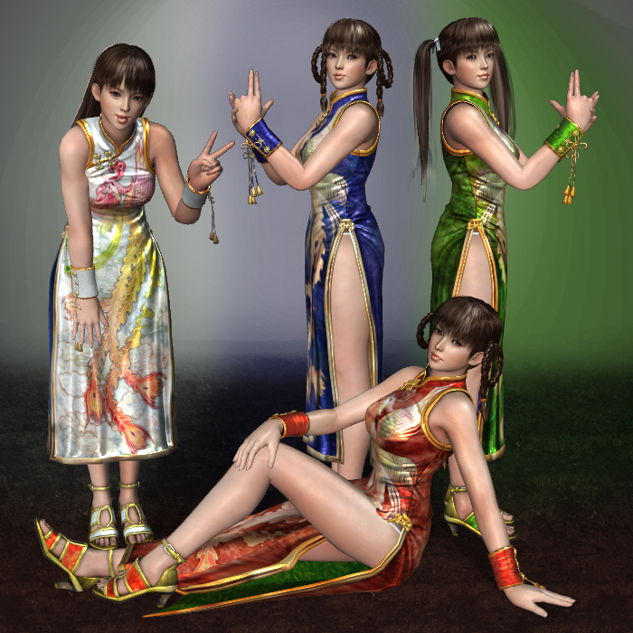 Dead Or Alive 5 Lei Fang 1 2 4 6 by ArmachamCorp