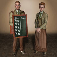 BioShock Infinite Burial at Sea Lutece Twins VGX by ArmachamCorp