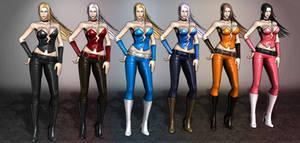 Marvel Vs Capcom 3 Trish by ArmachamCorp