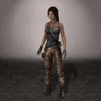 TOMB RAIDER Lara by ArmachamCorp