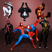 Ultimate Marver vs Capcom 3 Spider-Man by ArmachamCorp