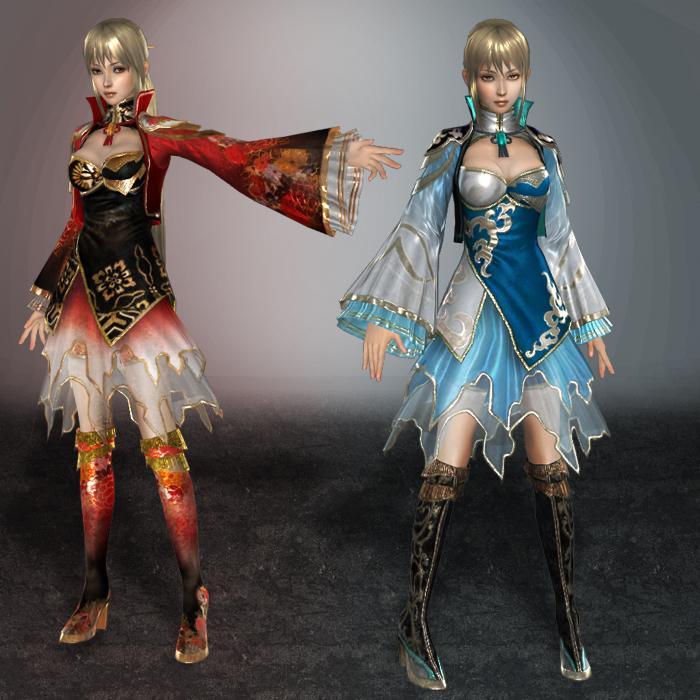Dynasty Warriors 7 Wang Yuanji by ArmachamCorp