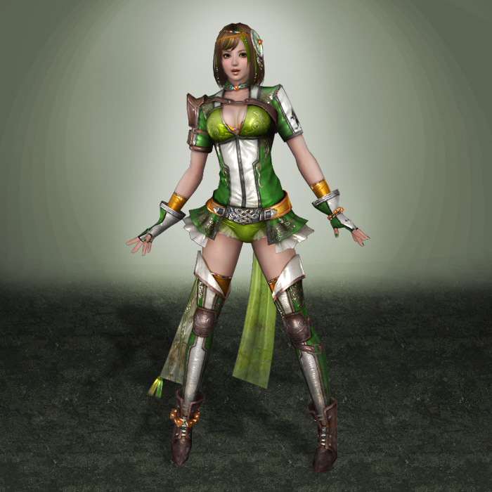 Warriors Come Out And Play Download: Dynasty Warriors 8 Bao Sanniang By ArmachamCorp On DeviantArt