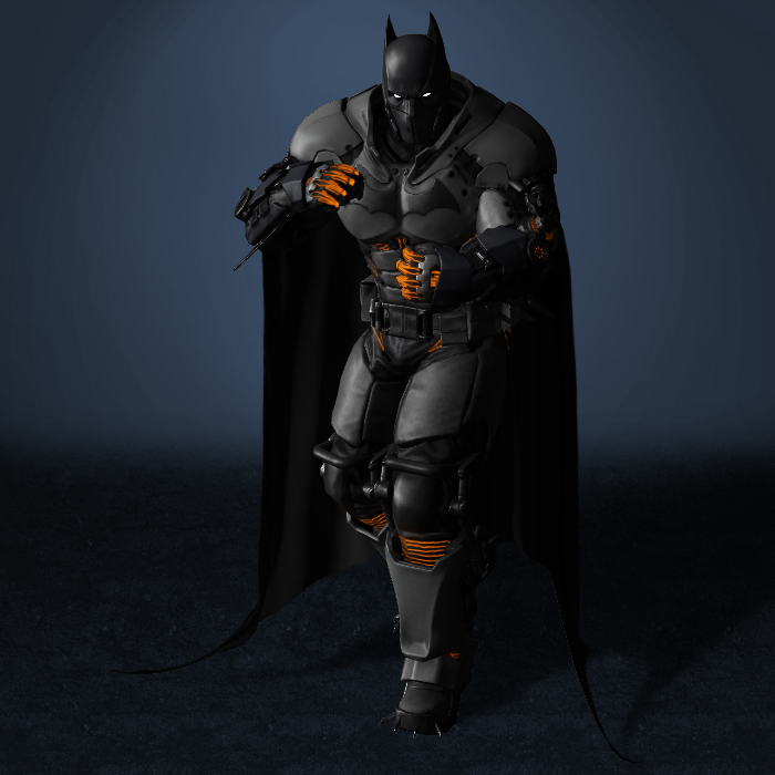 Batman Arkham Origins Cold Heart Xe Suit Download