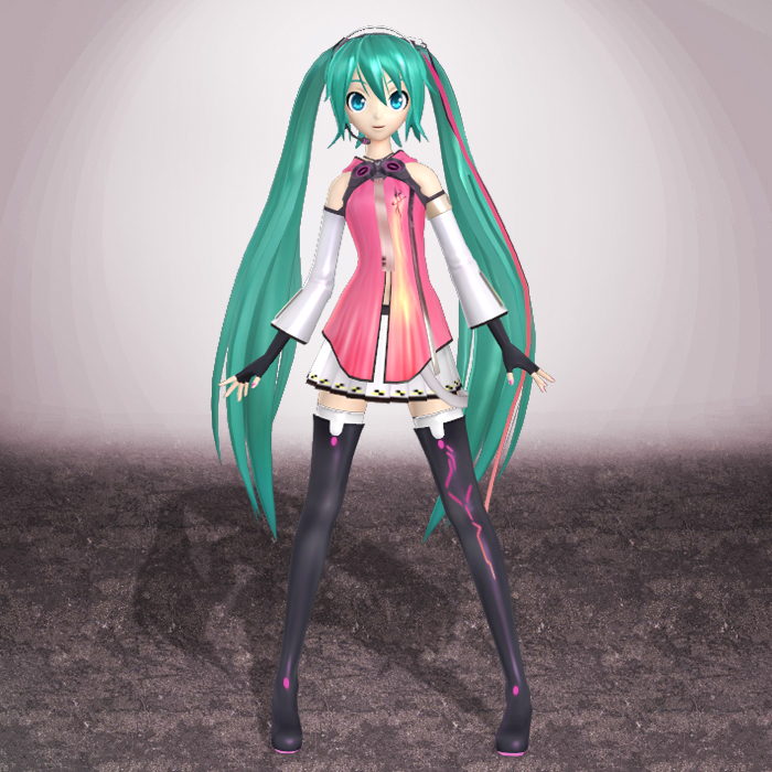 Project Diva F Hatsune Miku by ArmachamCorp