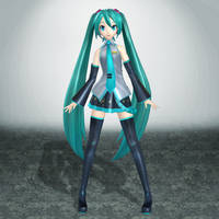 Project Diva F Hatsune Miku by ArmachamCorp