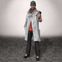 WATCH DOGS Aiden Pearce by ArmachamCorp
