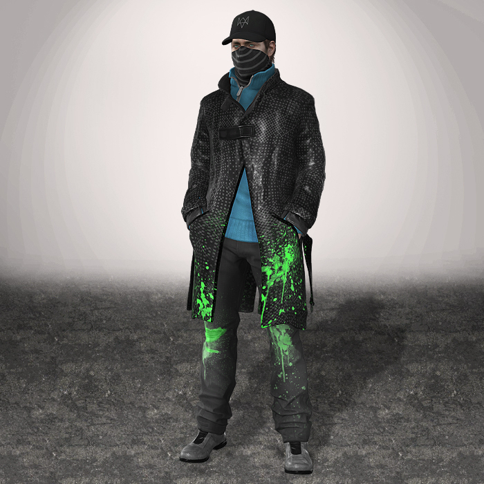 WATCH DOGS Aiden Pearce By ArmachamCorp On DeviantArt