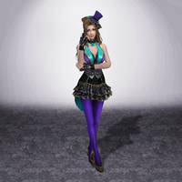Dynasty Warriors 8 Zhang Chunhua by ArmachamCorp