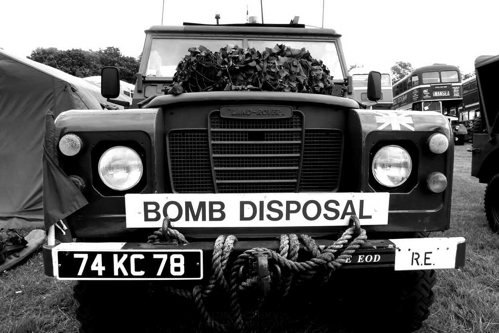 Bomb Disposal by 123boocatdog