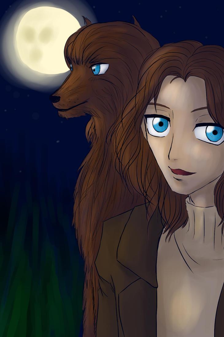 The Wolf Gift by Animefanka