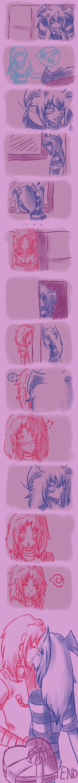 Valentines: Second try by Animefanka
