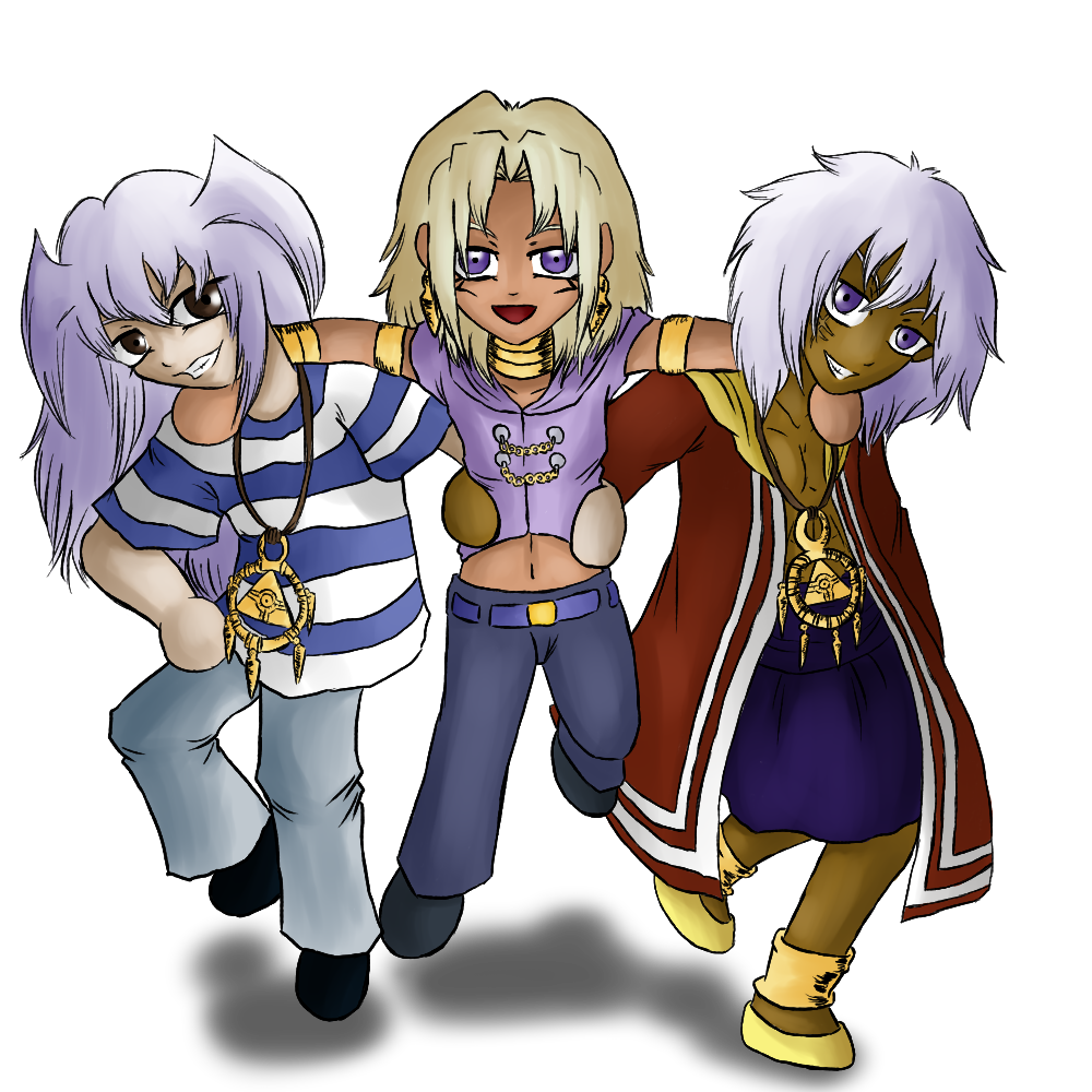 Chibi thief trio by Animefanka