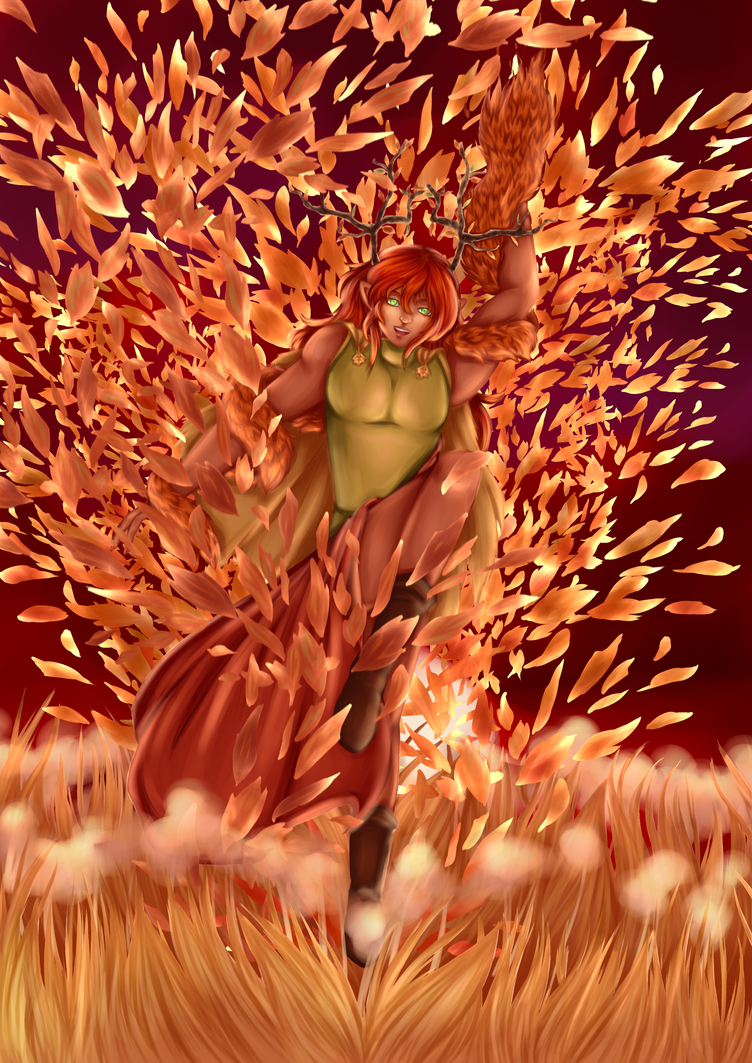 Spirit of Autumn by Animefanka