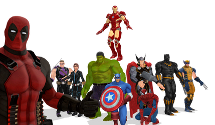 MARVEL - Tribute to Stan Lee