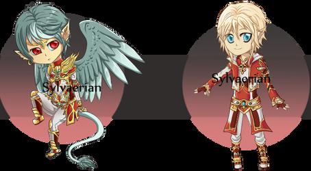 Crimson Royal Guards by Sylvaerian