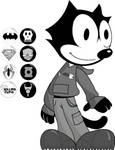 Punk Felix the Cat