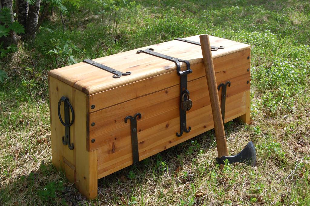 Viking Tool Chest By Wolfencourt On Deviantart